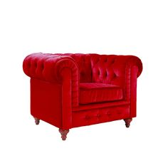 Madison Home USA Chesterfield Club Chair