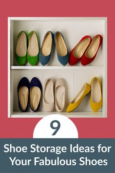 I know you love your shoes!  Keep them tidy and easy to find with one of these ridiculously brilliant shoe storage ideas.