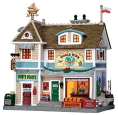 423 best dept 56 images on pinterest christmas for Waldo s world wide travel service