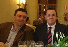 Con mi amigo del alma Javier Cortés