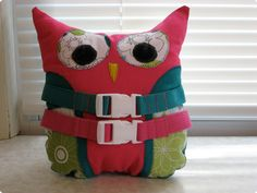 Owl Buckle Toy