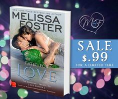FLASH SALE! 1/28 - 2/1 <3 $.99 Can a fearless rancher and a sweet, careful librarian find true love? Their connection is white-hot, and Wes is more than willing to convert sweet Callie from chick lit to a world of erotic romance, but Callie ties sex to love, and Wes avoids commitment like the plague. KINDLE: http://smarturl.it/FFL_Kindle KOBO: http://smarturl.it/FFL_Kobo iBOOKS: www.melissafoster.com/FFL-iBooks GPLAY: www.melissafoster.com/FFL-GPlay NOOK: www.melissafoster.com/FFL-NOOK
