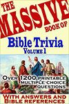 This site has TONS of free Bible Trivia questions all categorized. For example, trivia questions on Adam and Eve or on food in the Bible. #Bible Trivia - Bible Quiz