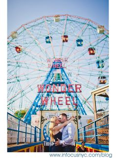 Coney Island engagement shoot