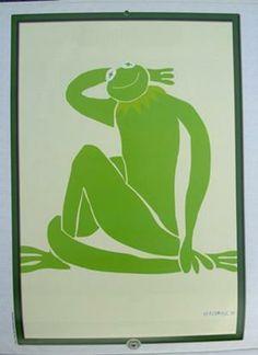 Nu Vert After Nu bleu, 1952 | Henri Matisse - Muppet Wiki