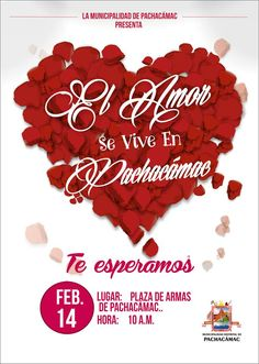 Día de San Valentín en Pachacámac
