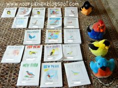 US States Geography | Noor Janan Homeschool....I love the printable mini books for each state!