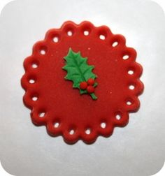 Christmas Cupcake Topper Tutorial