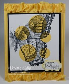 Love the Swallowtail stamp . Brand new in the 2013 Spring Catalog