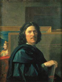 Nicolas :Poussin Autoportrait