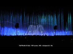 VIP - Full World of Color Video HD - BEST Panoramic View - with Tron Ending - 2011 w/Tron ending