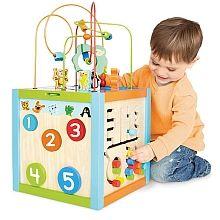 """Imaginarium - 5 Way Giant Bead Maze Cube - Imaginarium - Toys""""R""""Us"""