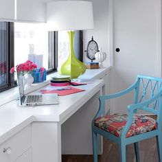 Small space but Big on design and function in this nook designed by @glenandjamie #IDCDesigners