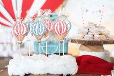 Rustic Hot Air Ballon  Birthday Party Ideas | Photo 1 of 26
