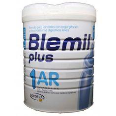 Blemil Plus 1 ar Antiregurgitacion 800 g - Es una leche especial para bebes con problemas de regurgitación que hace que asimile mal la leche...