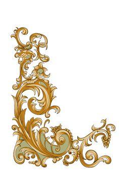best search Baroque Design, Baroque Pattern, Pattern Art, Flower Art Images, Rose Sketch, Ornament Drawing, Folk Art Flowers, Paisley Art, Jewelry Design Drawing