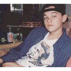 """Young Leonardo DiCaprio. Leo's hobby when he was like 18 was (in his own words) """"collecting clothes""""."""