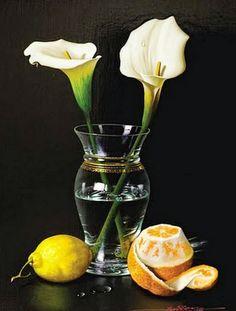 cuadros-de-bodegones-hiperrealistas-con-flores-al-oleo                                                                                                                                                                                 Más