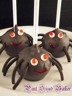 Halloween Cake Pops...lots of great ideas & so cute!