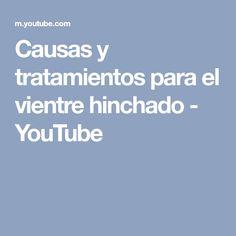 Causas y tratamientos para el vientre hinchado - YouTube Youtube, Physical Therapy, Bloated Belly, Healthy Life, Youtubers