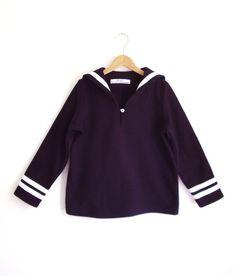 SWEATER AHOI  Navy Blue Sailor Sweatshirt by berlinerkindermoden, €49.00