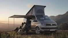VW has rolled out its new California camper van, based on the recently introduced T6-gen Transporter, and packing everything - including the kitchen sink.
