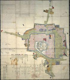 Himeji Castle Map