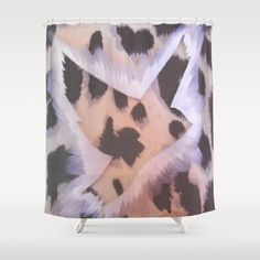 ThePeaceBombs - Soft Animal  Shower Curtain by ThePeaceBombers - $68.00Part of the world know PeaceBomb Team - Join it now! Acrylics and ink on recycle quality paper Handwritten text - Japanese book paper Created by the Founder of The PeaceBomb Team. Join it now!  #decor #home #shower #bathroom #curtains #homes #peace #art #thepeacebomb #leopard #prints #patterns