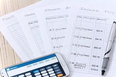 How to Use Ledger Paper for a Home Budget
