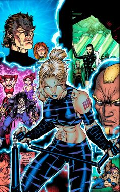 DV8 WildStorm Lines by Jim Lee Inks by Scott Williams Colours by Thomas Mason