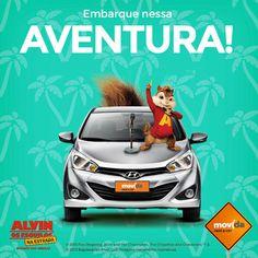 Faça como Alvin e os esquilos e caia na estrada com os benefícios exclusivos da #MovidaRentACar. Alugue agora para suas férias de final de ano no site www.movida.com.br ou pelo App Movida.