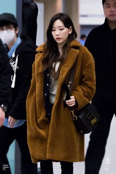 180114 Taeyeon / Incheon Airport