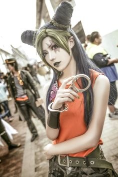 yoyo(魅游) Jolyne Kujo Cosplay Photo - Cure WorldCosplay