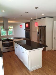 White #Shaker Elite Kitchen Cabinets Project Done By Lily Ann #Cabinets  White Shaker Elite