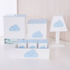 Baby Bedroom, Baby Decor, Wood Crafts, Decoupage, Nursery, Place Card Holders, Clouds, Frame, Home Decor