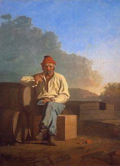 George Caleb Bingham, Mississippi Boatsman, 1850