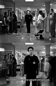I really love that show. So true ! Scrubs Serie, Scrubs Tv Shows, Tv Show Quotes, Movie Quotes, Dumb Quotes, Lyric Quotes, Scrubs Quotes, Himym, It Gets Better