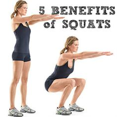 5 Benefits of Squats (or why my apple-bottom jeans would look better if I had an… - Women Fashion Arm Exercises With Weights, Health And Nutrition, Health Fitness, Benefits Of Squats, Apple Bottom Jeans, Free To Use Images, Get Healthy, Fitness Tips, Challenges