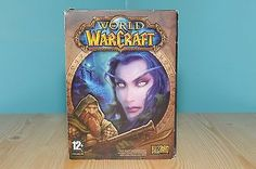 WORLD OF WARCRAFT BOXED & INSTRUCTIONS (4 x Disc's)