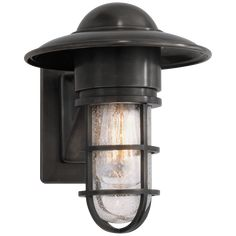 in Bronze by Visual Comfort in Bowling Green, KY - Visual Comfort E. Chapman Marine 1 Light 11 inch Bronze Outdoor Wall Lantern in Seeded Glass Outdoor Wall Lantern, Outdoor Wall Sconce, Outdoor Wall Lighting, Exterior Lighting, Outdoor Walls, Home Lighting, Indoor Outdoor, Lighting Ideas, Rustic Outdoor