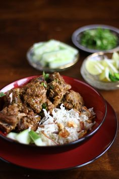 North Indian lamb curry