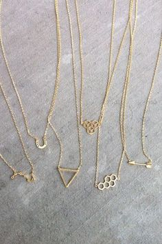 The Littlest Collection - minimalist jewelry