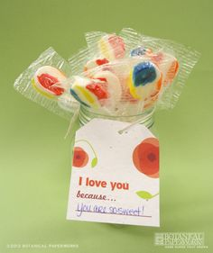Mother's Day seed paper fill-in tag, comes on a free printable sheet! http://goo.gl/0DFLF
