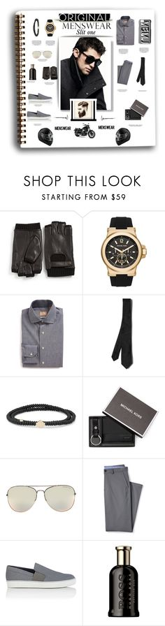 """""""Original men wear slip one"""" by carleen1978 ❤ liked on Polyvore featuring John Varvatos * U.S.A., Michael Kors, Gitman Bros., DKNY, Valentino, Luis Morais, Lands' End, Lanvin, HUGO and Marc by Marc Jacobs"""