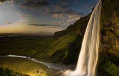 Водопад Селйяландсфосс
