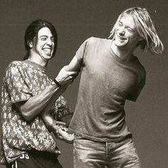 The most amazing picture I've ever seen of these two!! Love Kurt and Dave so much!