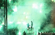 Legendary Gate 13(Ultras Gate of Panathinaikos FC)gets closed for the rest of the season by greek goverment