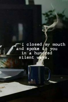 Silence can be deafening