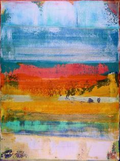 "Saatchi Art Artist Nestor Toro; Painting, ""Dimensional Terrain II"" #art"