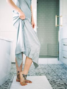simple tattoos for feet // farmhouse modern bathroom inspiration // editorial boudoir Boudoir Photos, Boudoir Photography, Wedding Day Checklist, Young Love, Engagement Couple, Photo Sessions, Romantic, Gowns, Bride